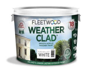 Fleetwood Weather Clad White 10Ltr
