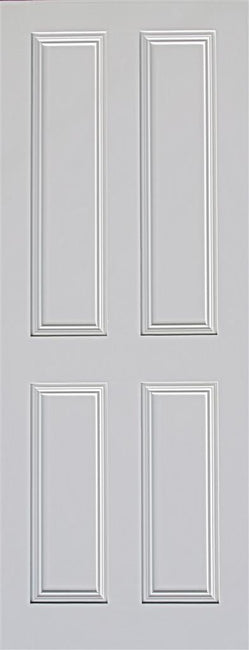 Indoors Ardmore 4 Panel Primed Door 80X32X44Mm