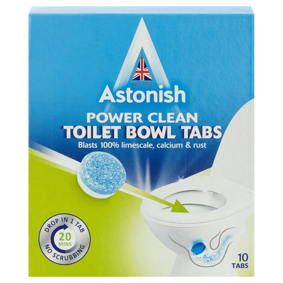 Astonish Power Clean Toilet Bowl Tablets