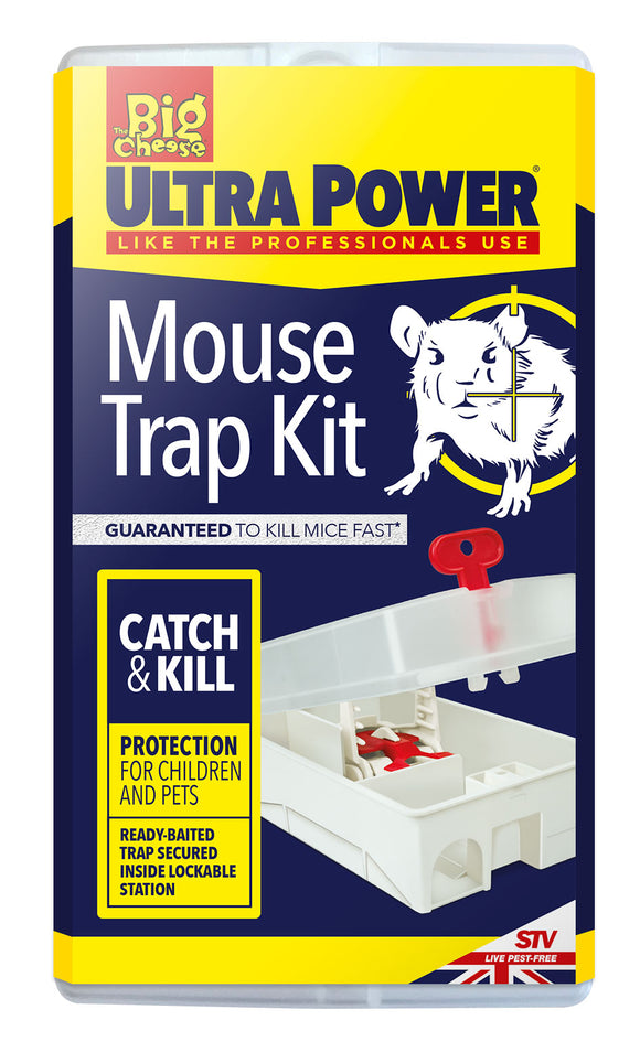 Big Cheese Ultra Power Mouse Trap Kit