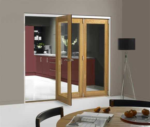 Indoors Slidefold  40Mm Oak Int Finesse 1 Lite 2990Mm