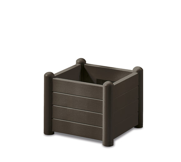 Italia Square Flower Box Col. Moka