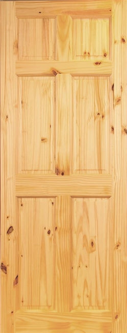 Indoors Stafford Prefinished 6P Pine Door 80X34X44Mm