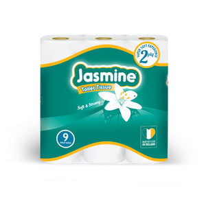 Jasmine Toilet Roll New 9 roll pack