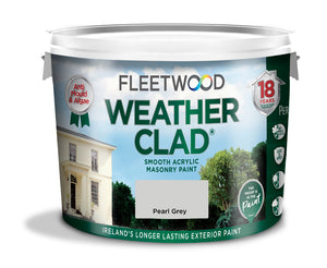Fleetwood Weather Clad Pearl Grey 10Ltr