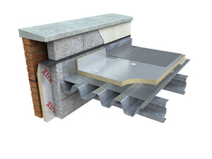 Xtratherm Thin-R FR/ALU Flatboard For Roofs