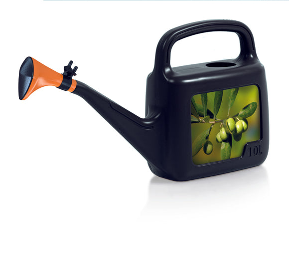 5L Watering Can Black Leaf 580X123X265
