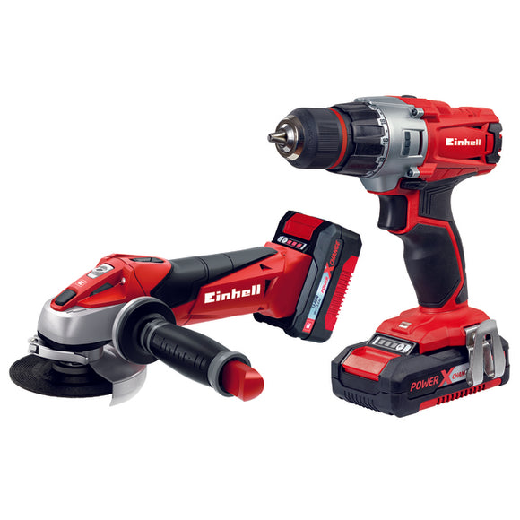 Einhell Drill/Driver and Angle Grinder Kit