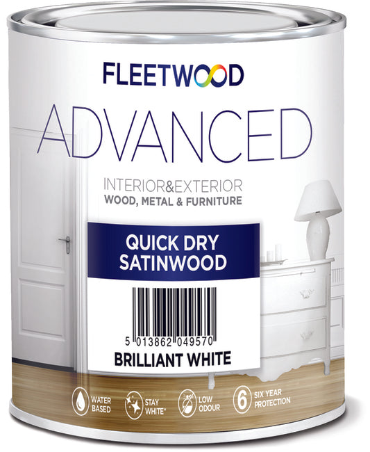 Fleetwood Advanced Satinwood 2.5Ltr
