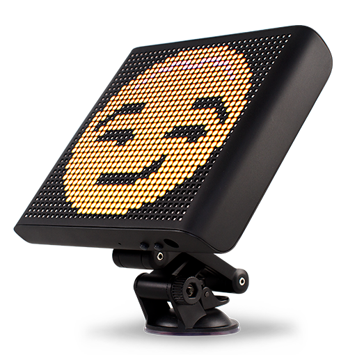 Voice Controlled Smart Car Emoji LED Display- (mojipic)
