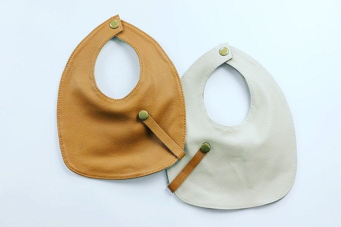 Leather Baby Bibs - Mahere