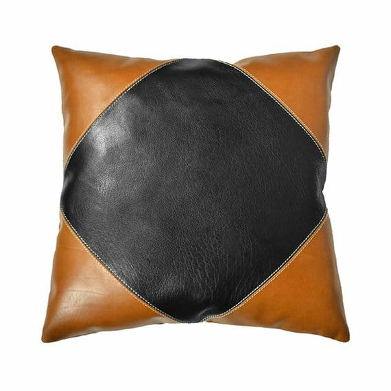 Diamond Leather Cushion - Mahere