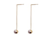 Elegant Chain Drop Earrings - Akoya Atelier