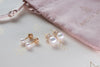 Petit Pearls - Screwback Earrings
