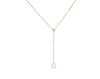 Adjustable Pearl Drop Pendant - Akoya Atelier