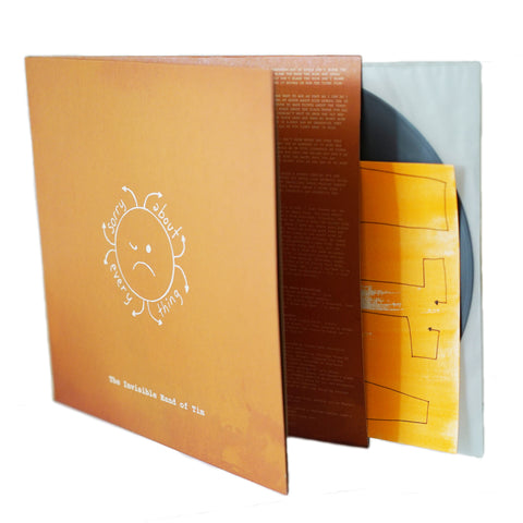 "LIMITED EDITION: Sorry About Everything ""The Invisible Hand Of Tim"" Vinyl"