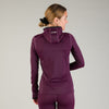 Ocean Collection zipper hoodie mauve
