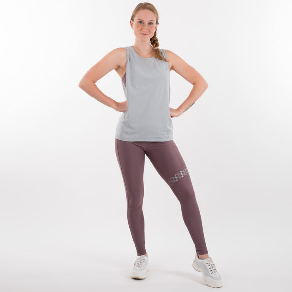 Blush Collection Seamless Tank light grey