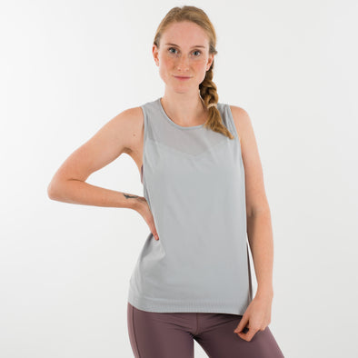 Blush Collection Seamless Tank hellgrau