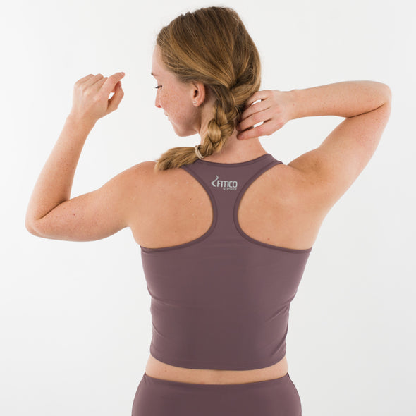 Blush Collection Crop top cocoa
