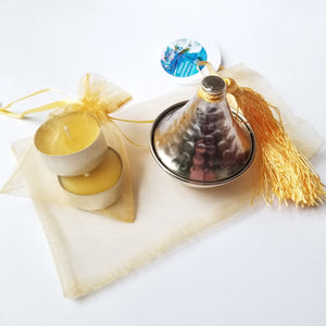 Pure Beeswax Jasmine candles