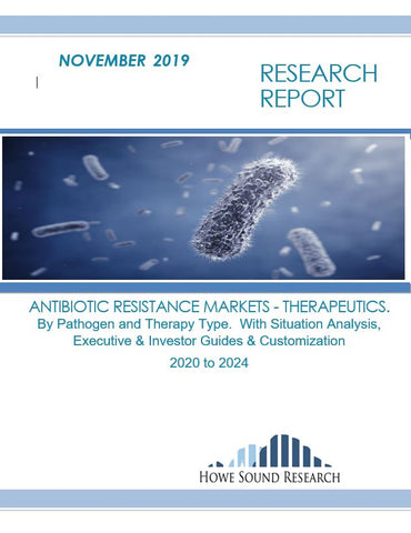 ANTIBIOTIC RESISTANCE MARKETS - THERAPEUTICS. By Pathogen and Therapy Type.  With Situation Analysis, Executive & Investor Guides & Customization.   2020 to 2024