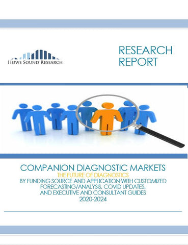 COMPANION DIAGNOSTIC MARKETS, THE FUTURE OF DIAGNOSTICS, BY FUNDING SOURCE AND APPLICATION WITH CUSTOMIZED FORECASTING/ANALYSIS, COVID UPDATES, AND EXECUTIVE AND CONSULTANT GUIDES  2020-2024