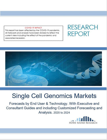 Single Cell Genomics Markets Forecasts by End User & Technology. With Executive and Consultant Guides and including Customized Forecasting and Analysis. With COVID Updates.   2020 to 2024