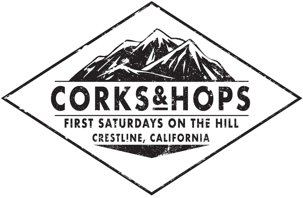 OCT 5 - PRE-PACKAGED FOOD VENDOR Corks & Hops First Saturdays On The Hill - Crestline, Ca