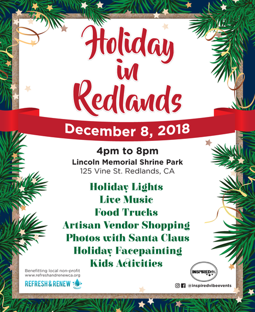 FOOD Vendors - Holiday In Redlands