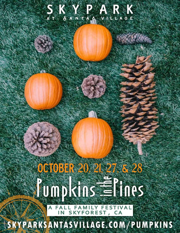 Pumpkins In The Pines - Oct 20 & 21