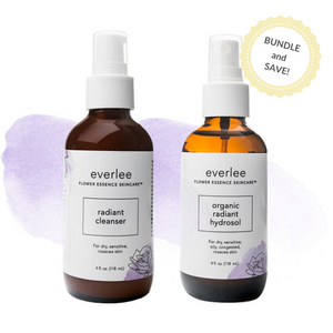 Radiant Cleanser and Radiant Hydrosol