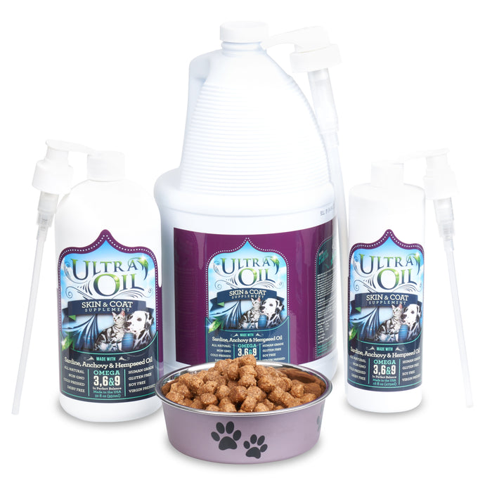 Ultra Oil For Pets Ingredient Sourcing