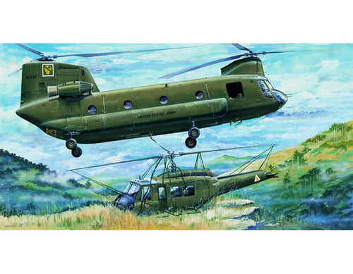 Trumpeter 1/35 Boeing Vertol CH-47A Chinook Model Kit # 01504 <Canada>