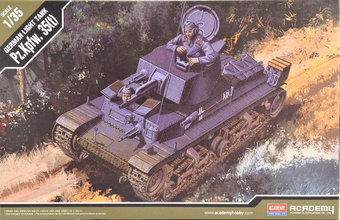 Academy 1/35 35T German Light Tank (Czech Designed) ACA13280