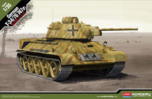 Load image into Gallery viewer, Academy 1/35 German T-34/76 747 (r)  Tank ACA13502 ($55 Incl Tax)