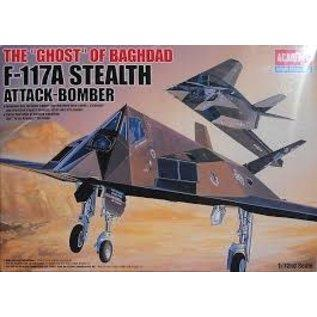 Academy 1/72 F-117A Stealth Fighter/Bomber ACA12475