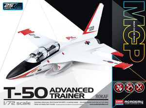Academy 1/72 ROKAF T-50 Golden Eagle Advanced Trainer ACA12519 <NO GLUE> - Includes Stand