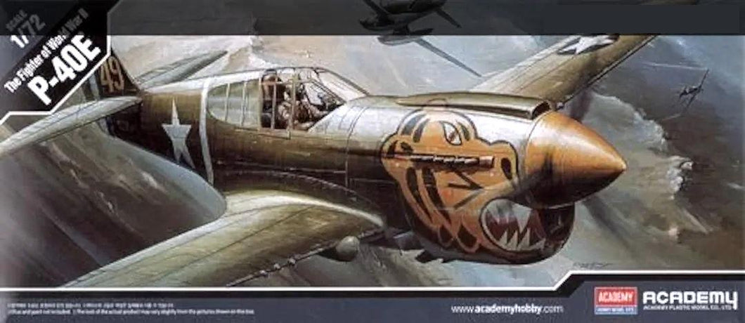 Academy 1/72 Curtiss Warhawk P-40E Variant ACA12468 ($22 Incl Tax)