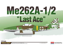 "Load image into Gallery viewer, Academy 1/72 Me262A-1/2 ""Last Ace"" Le: WWII  ACA12542"