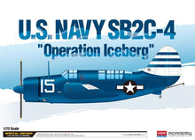 "Load image into Gallery viewer, Academy 1/72 U.S.Navy SB2C-4 ""Operation Iceberg"" Le: ACA12545"