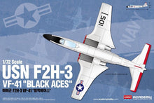 "Load image into Gallery viewer, Academy 1/72 USN  F2H-3 VF-41 ""Black Aces"" ACA12548"