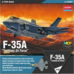 "Academy 1/72 F-35A ""Seven Nation Air Force"" ACA12561"