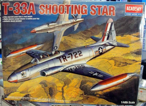 Academy 1/48 T-33A Shootingstar  Fighter USN  ACA12284