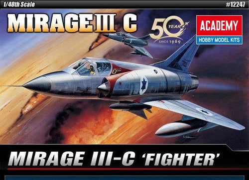 Academy 1/48 Mirage III-C Fighter  ACA12247