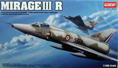 Academy 1/48 Mirage III-R Fighter   ACA12248