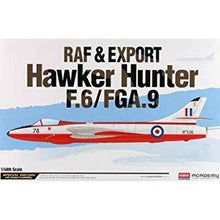 Load image into Gallery viewer, Academy 1/48 Raf & Export Hawker Hunter F.6/Fga.9    ACA12312