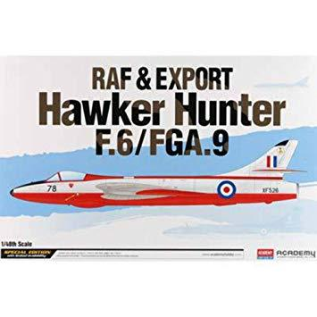 Academy 1/48 Raf & Export Hawker Hunter F.6/Fga.9    ACA12312