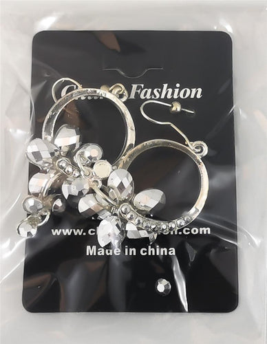 Silver Pierced Earrings Costume Jewelry ($5 Incl Tax)