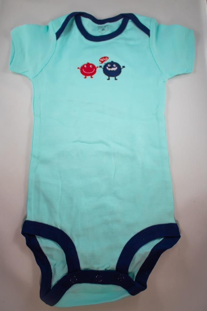 Baby Onesie - Round Guys Greeting Us - 24 Month